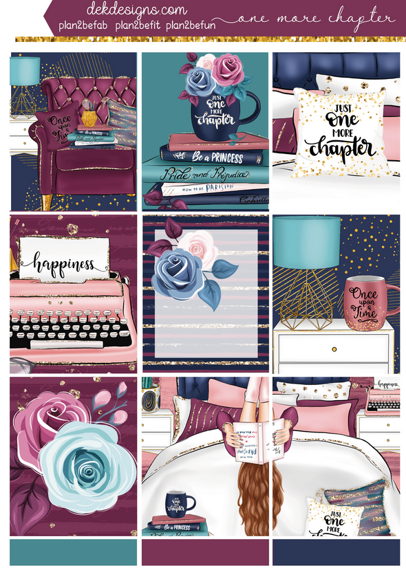 One More Chapter- Kit - DEK Designs