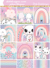 Pink Rainbows - DEK Designs