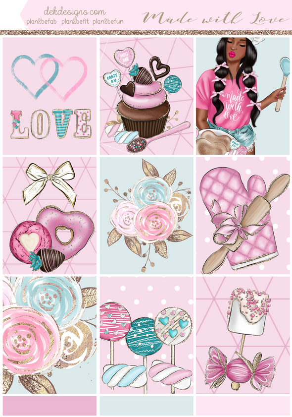 Made with Love - Foil Kit - DEK Designs