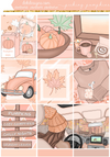 Picking Pumpkins -  Kit - 6 Sheets and Fashion Girls - DEK Designs