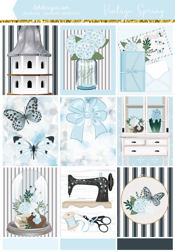 Vintage Spring - Kit - DEK Designs