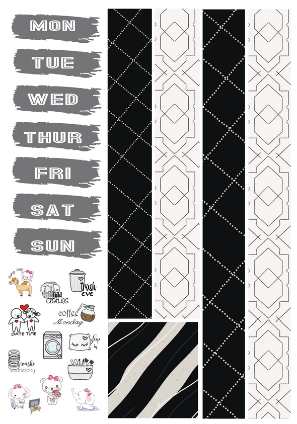 The Noir Edit - Foil Kit - DEK Designs