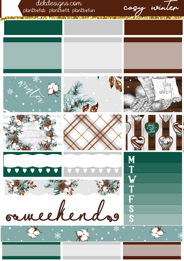 Cosy Winter - Foil Kit - DEK Designs