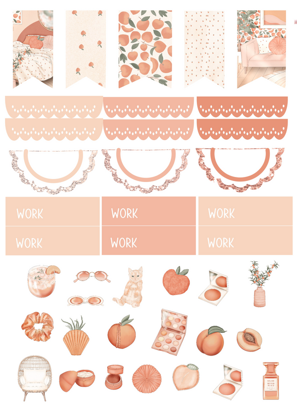 RTS - Peachy - DEK Designs