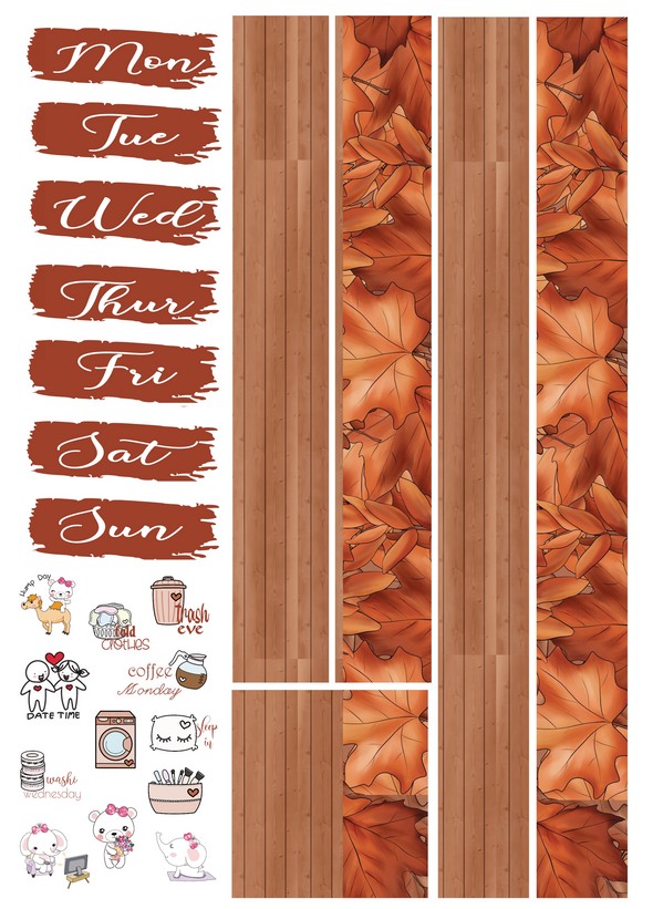 Mini Kit - Leaves - DEK Designs