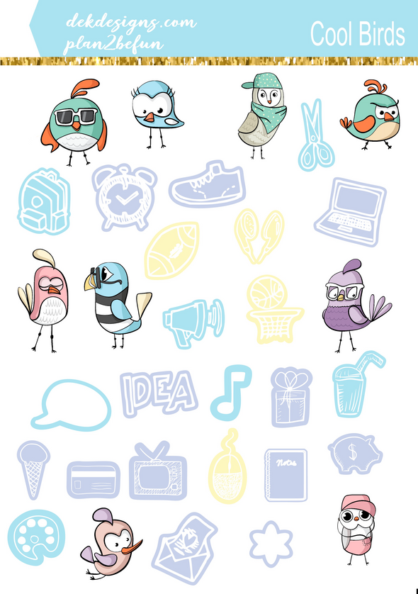 Cool Birds - DEK Designs