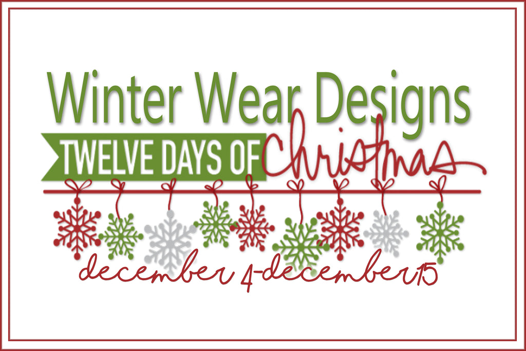 Winter Wear Designs 12 Days Of Christmas: Day One