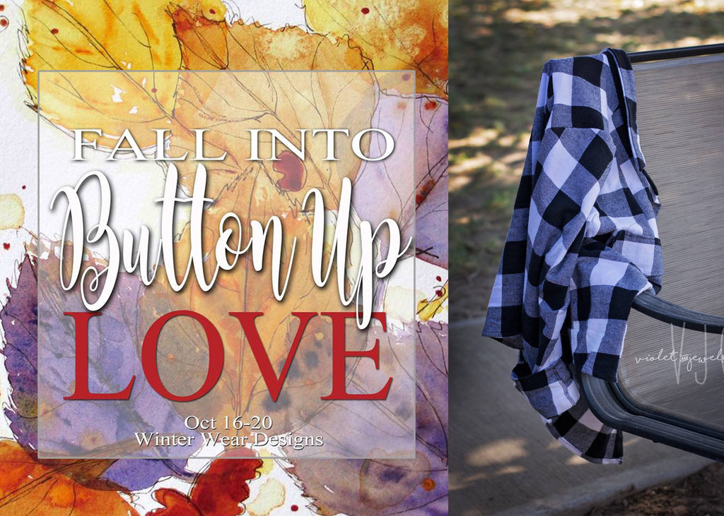 Button Up Love Blog Tour: Day Two