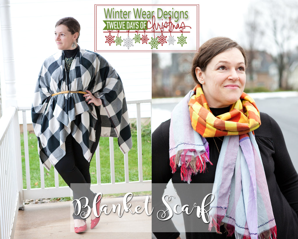 The 12 Days of Christmas: Day 2 - the Blanket Scarf