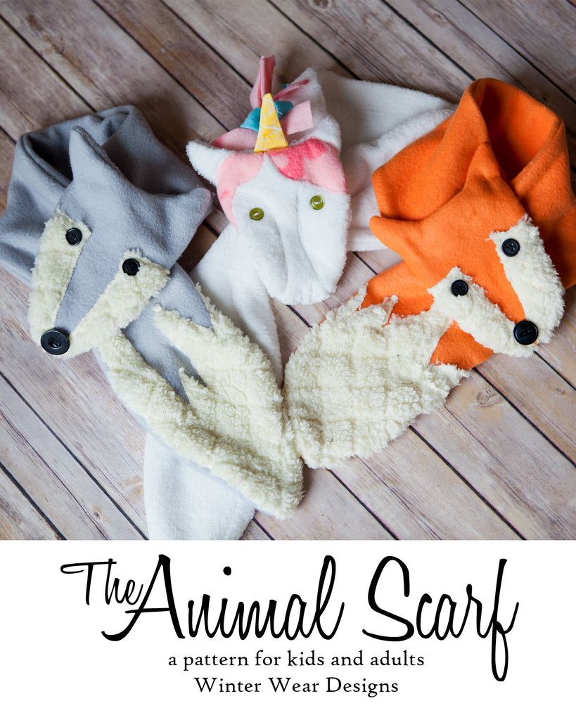 The 12 Days Of Christmas: Day 6, Getting Wild with the FREE Animal Scarf