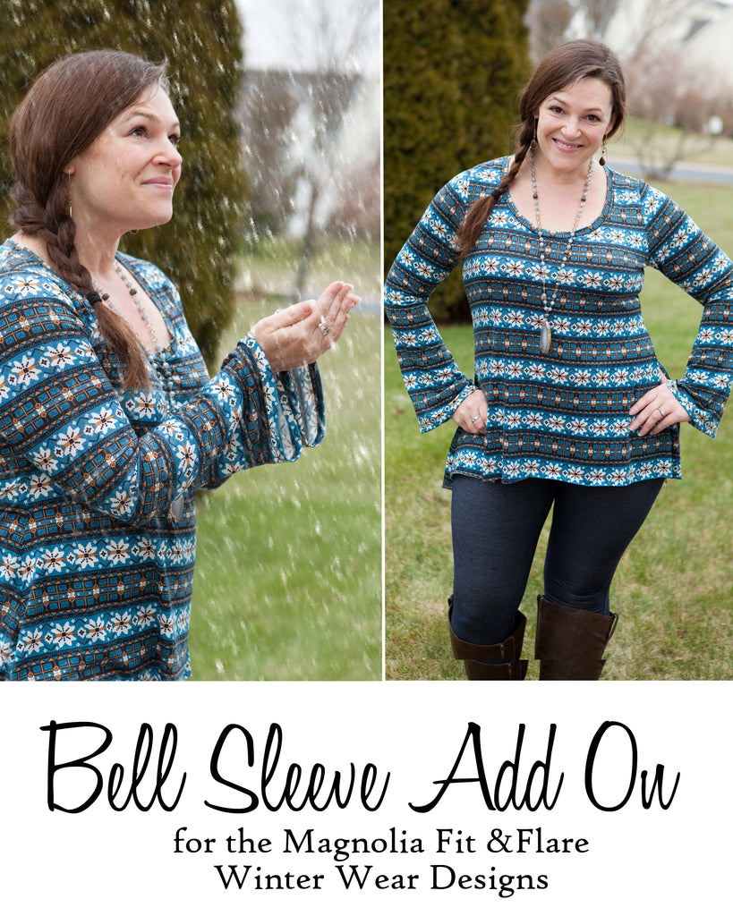 12 Days of Christmas: Day 9 Bell Sleeve Add On