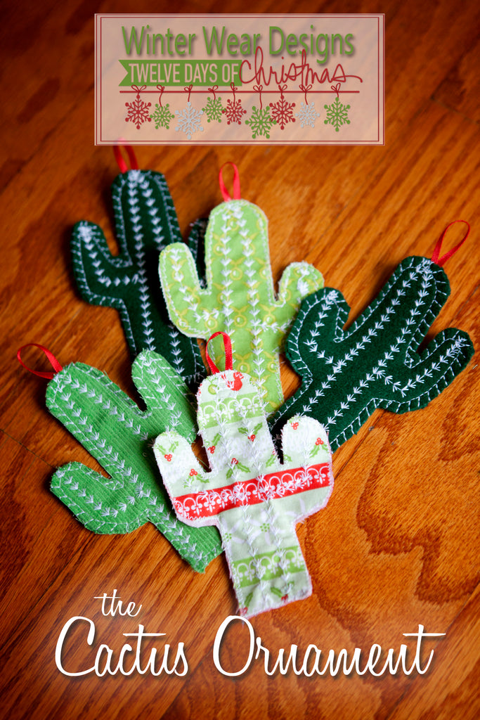 The 12 Days of Christmas: Day 12, the Cactus Ornament