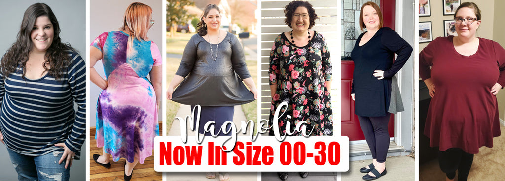Magnolia Blog Tour - New and Improved in size 00-30!!!!