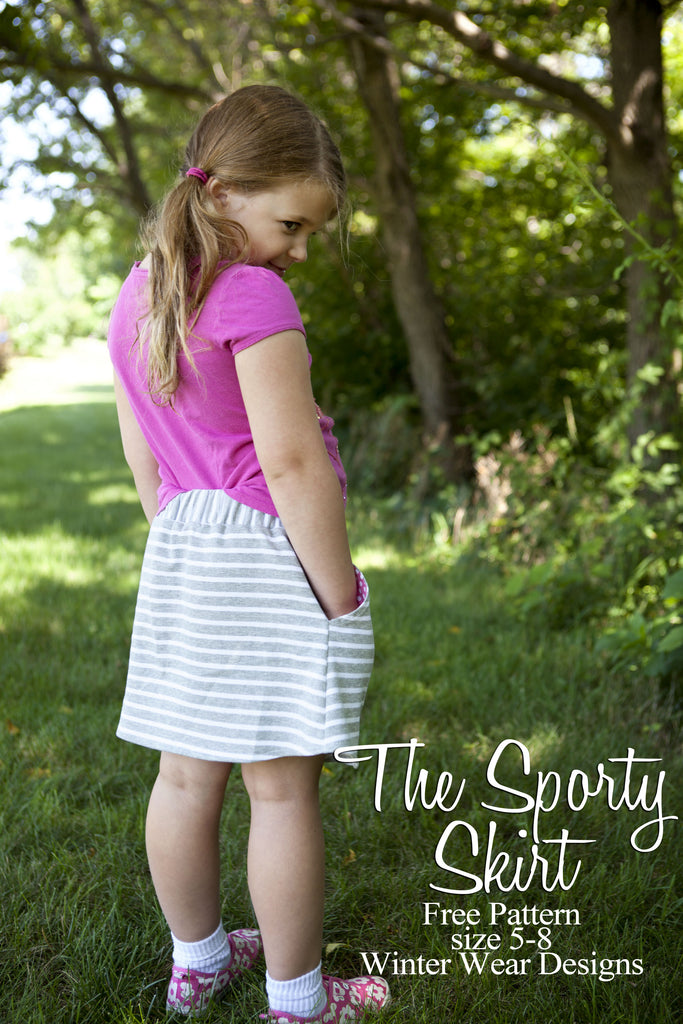 Free Sporty Skirt Pattern with Skirting the Issue