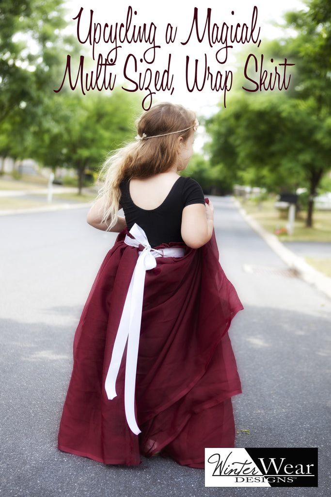 Upcycling a Magical, Multisize, Wrap Skirt