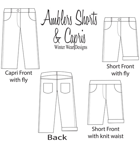 amblers shorts illustration