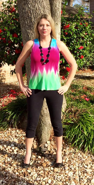 La Croix Cross Back Top for women size XXS-XXXL