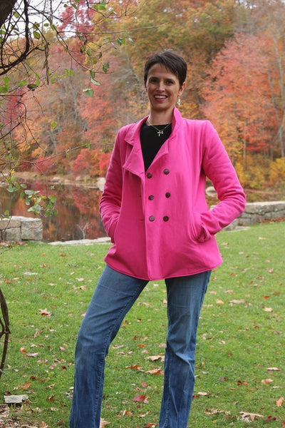 Provence Pea Coat for Women XXS-XXXL