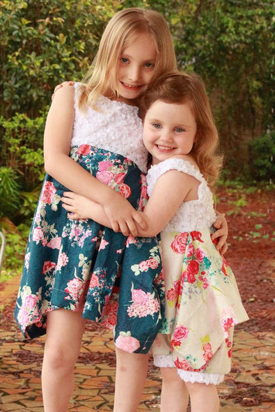 Fleur Dress and Tunic for Girls size 1-16