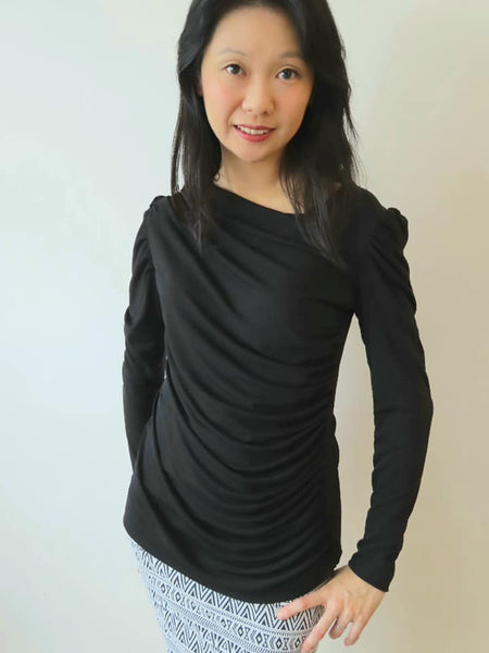 Radiant Rouched Top size 00-30