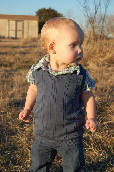 V Neck Vest for boys size 1-14