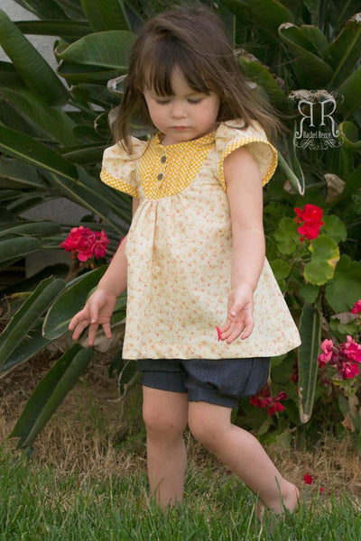 Stargazer Set, Pintuck Top & Dress and Pleated Bubble Shorts for girls size 9m-16