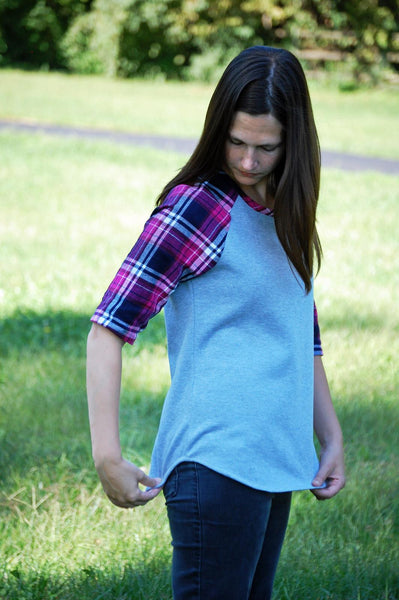 Refined Raglan for Women size XS-XXXL