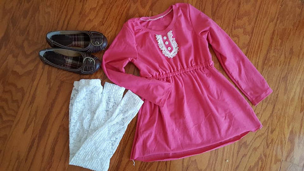 Coquette Top, Tunic, and Dress for girls size 1-14