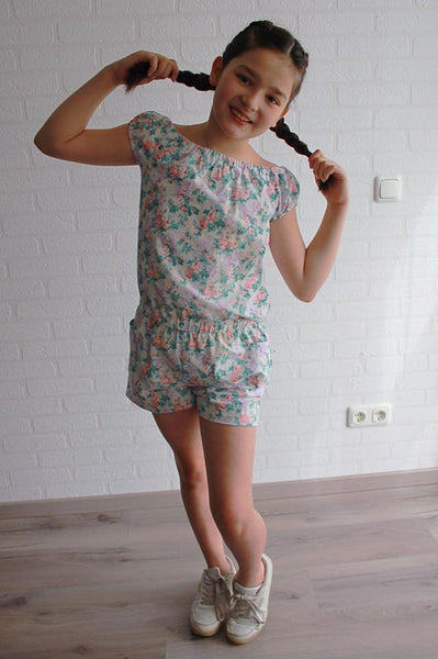 Boho Breeze Romper and Dress for Girls 9m-16