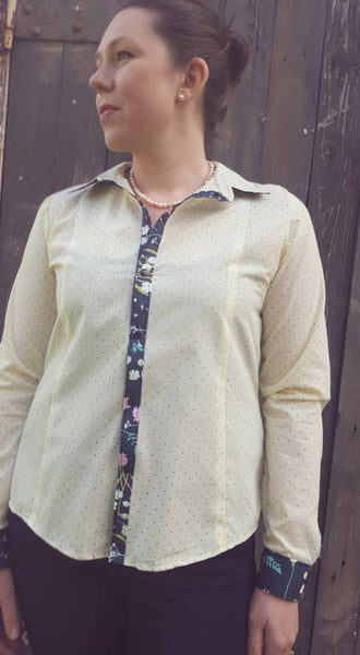 Button Up Top for Women size XXS-XXXL