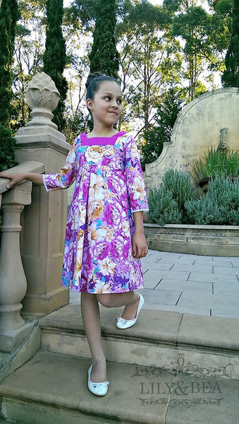Squared Away Tunic and Dress for Girls size 1-16