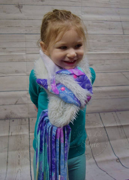 Animal Scarves for Kids and Adults:  FREE with code