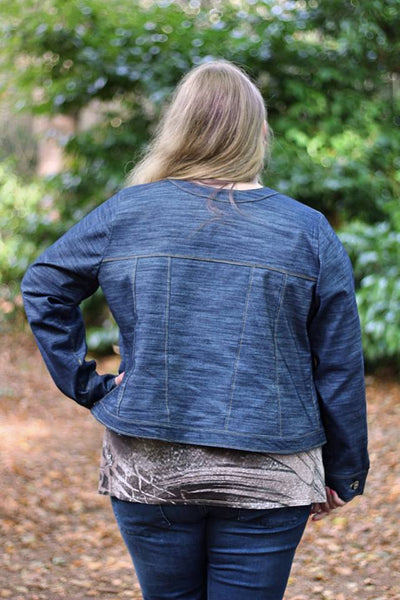 Fashionista Jean Jacket for Women size xxs-xxxl
