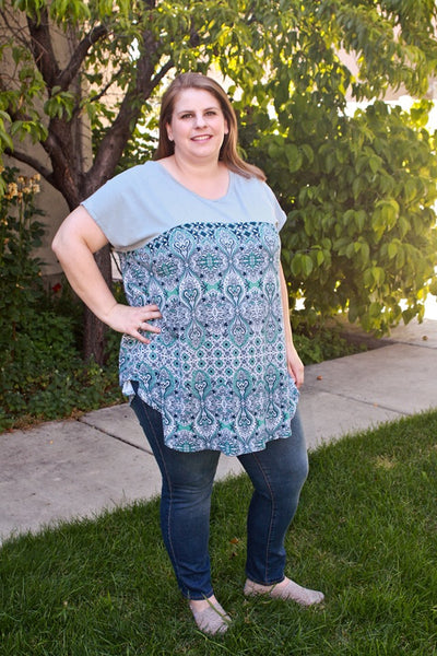 Creative Cap Sleeve Top & Tunic for Women size XXS-5X