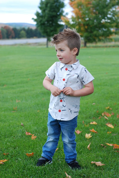 Collared Shirt for Kids size 9m-16