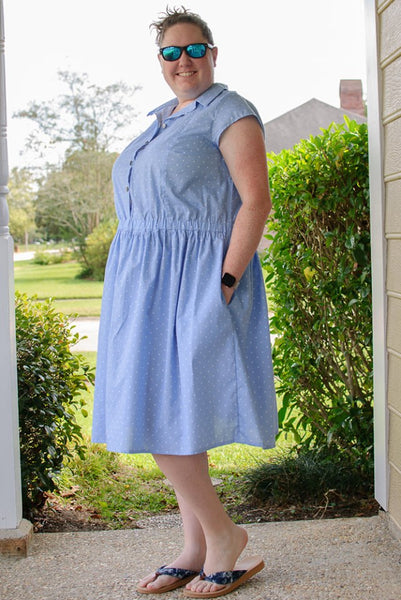Collared Shirt Dress for Women sizes XXS-5X