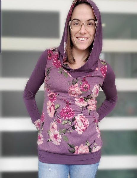 Vivacious V Neck Dress and Hoodie for Women size 00-30