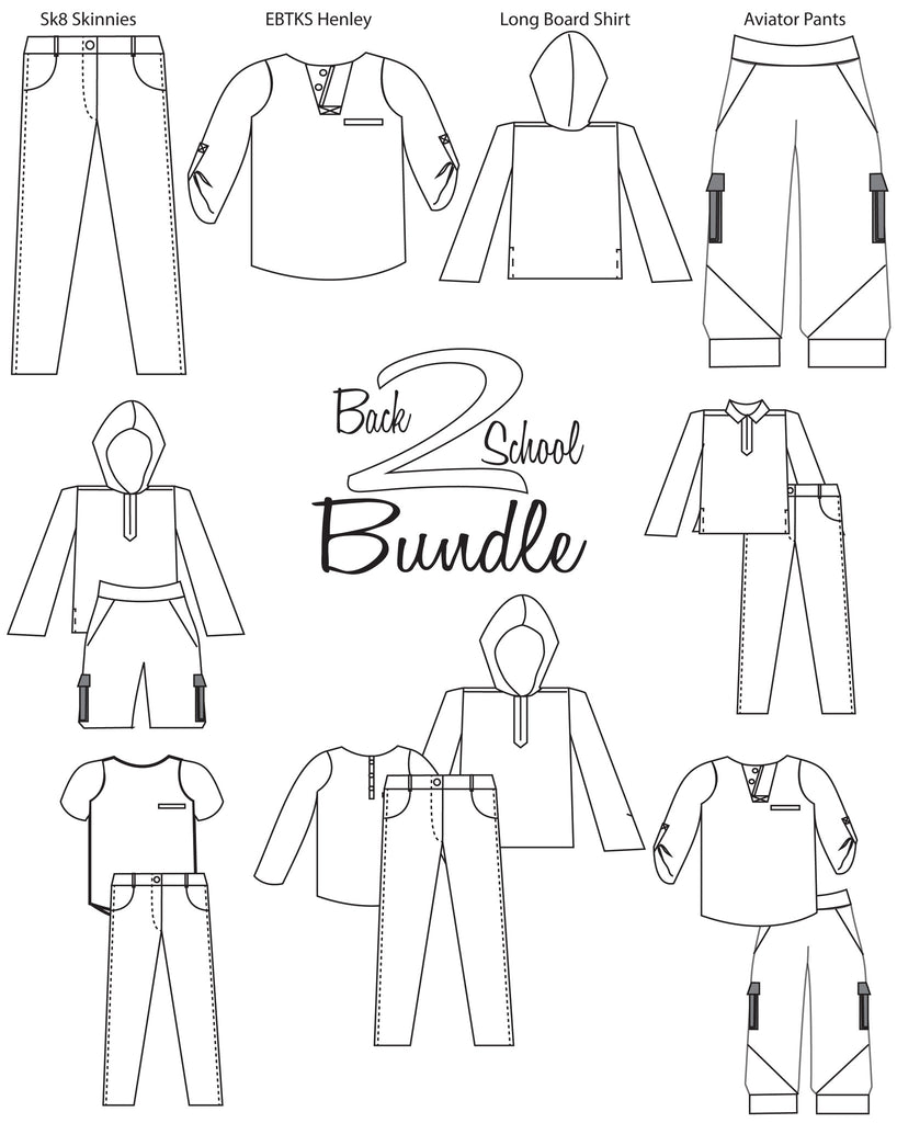 Back to School Bundle for Boys