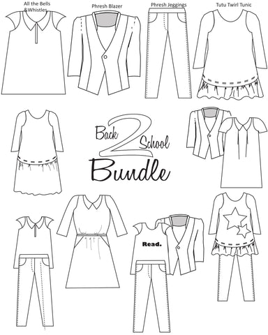 Back to School Bundle for Girls