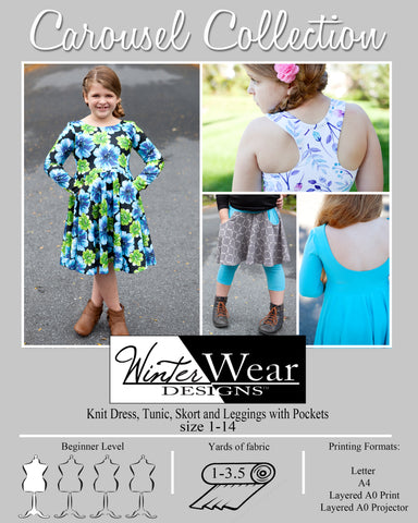 Carousel Collection for Girls size 1-14