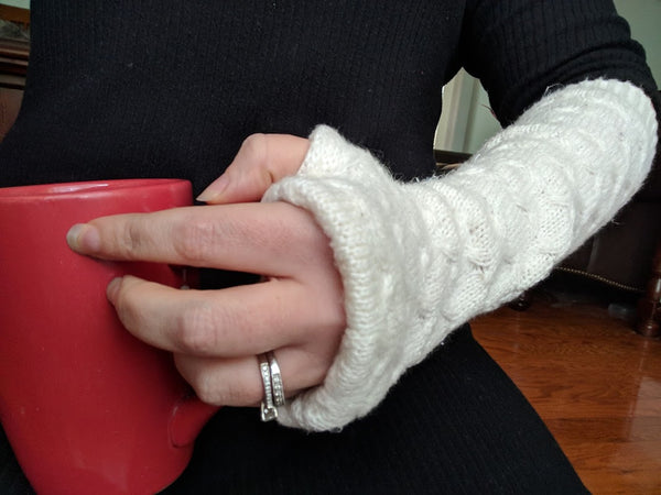 Alpine Fingerless Gloves for Women and Kids - FREE with code