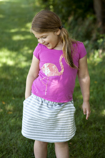 Free Sporty Skirt for Girls size 5-8