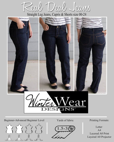 The Real Deal Jeans for Women size 00-24