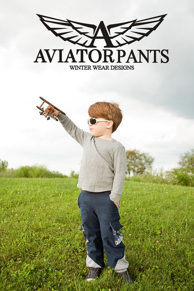 Aviator Pants and Shorts for boys and girls size 1-14