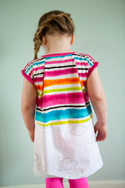 Color Up Tunic for girls size 1-7