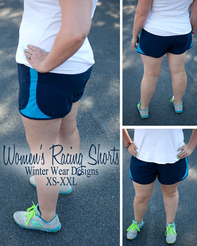 Racing Shorts for Women size XS-XXL