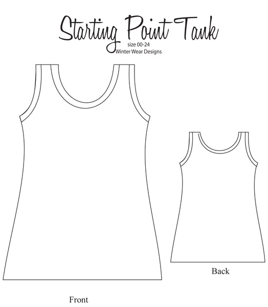Starting Point Tank for Women size 00-24
