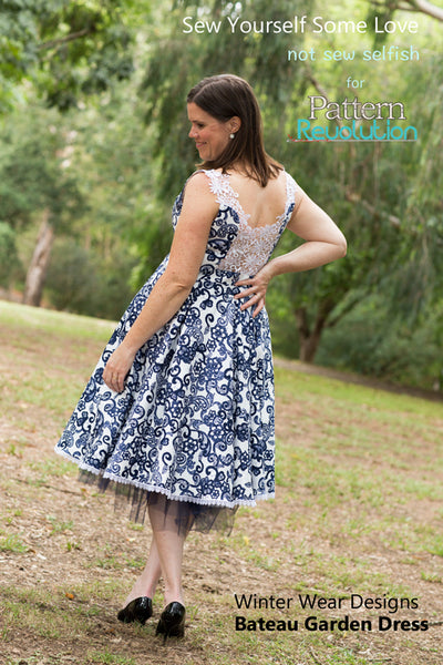 The Bateau Garden Dress for Women size 00-24