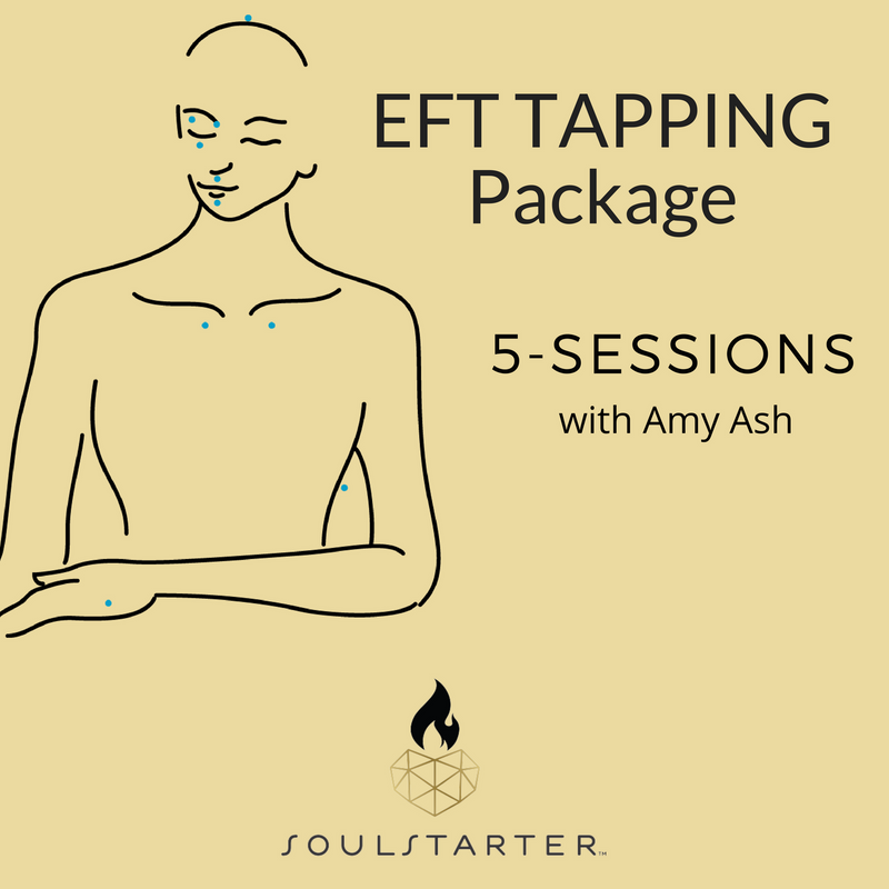 EFT Tapping Package 5-Sessions with Amy Ash