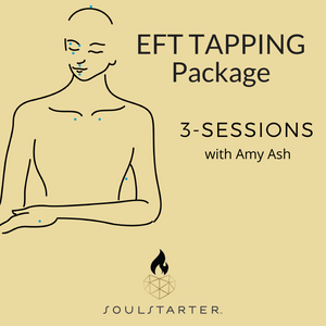 EFT Tapping Package 3-Sessions with Amy Ash